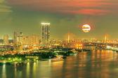 Modern building in Bangkok — Stock Photo