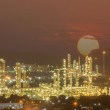 Stockfoto: Petrochemical plant