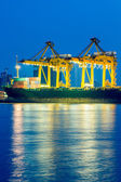 Container Cargo freight ship — Foto Stock