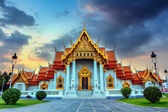 The Marble Temple, Wat Benchamabophit — Stock Photo