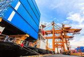 Industrielle Container Frachtschiff Fracht — Stockfoto