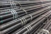 Stahlrohre — Stockfoto