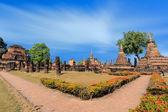 Geschichtspark sukhothai — Stockfoto