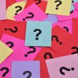 Question marks symbols — Stock Photo #33384251