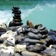 Stones balance - pebbles stack — Stock Photo