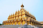 Pagoda at Wat Thasung — Stock Photo