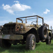 Постер, плакат: An old military Jeep