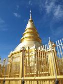 Hariphunchai temple at Lamphun — Stock Photo