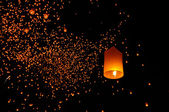 Lanterns floating — Stockfoto