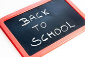 Back To School blackboard — Stock Photo