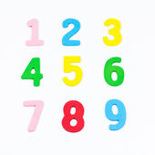 Color numbers — Stock Photo