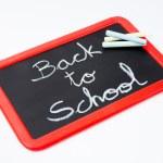 Back to school, blackboard and chalks. — Stock Photo #49600097