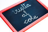 Back to School, Vuelta al cole — Stock Photo