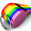 Homosexual whistle — Stock Photo