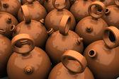 Spanish jugs — Stock Photo