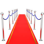 On the Red Carpet — Stockfoto