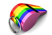 Homosexual whistle — Stock Photo