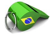 Brazilian whistle — Stock Photo