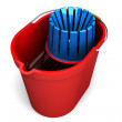 Mop bucket — Stock Photo