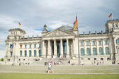 Reichstag in Berlin (Germany) — Stock Photo