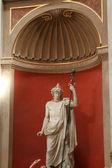Estátua para dentro do museu do vaticano — Foto Stock