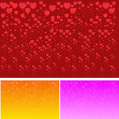 Te amo tarjeta de felicitación de San Valentín, ilustración vectorial — Vector de stock