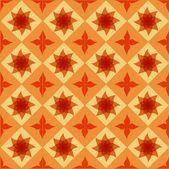 Nahtlose ornamentalen fliese hintergrund vektor-illustration — Stockvektor
