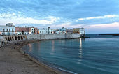Gallipoli at Dusk — Stock Photo