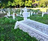 Muslim grave yard in Kuantan, Malaysia — Stock Photo