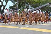 Kuantan-aug 31: niet-geïdentificeerde Maleisische kinderen deelnemen aan nationale dag parade, vieren de 55ste verjaardag van de onafhankelijkheid op augustus 31, 2012 in kuantan, pahang, Maleisië. — Stockfoto