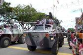 Kuantan, Malajsie - aug 31: obrněné vozidlo na účastní národní den a Malajsie den parade, oslavil 55 výročí nezávislosti na srpen 31, 2012 v kuantan, pahang, Malajsie — Stock fotografie