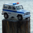Police car toy — Stock Photo