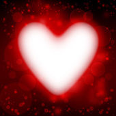 Heart, valentine s background — Stock Photo