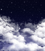 Nightly sky, background — Stockfoto