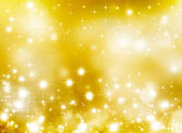 Elegant golden starry background — Stock Photo