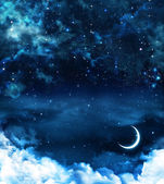 Beautiful background, nightly sky — Stock Photo