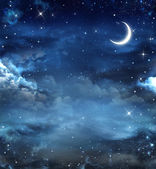 Beautiful background, nightly sky — Stock Photo