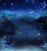 Beautiful background, nightly sky — Foto Stock