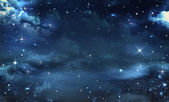 Nattliga himlen — Stockfoto