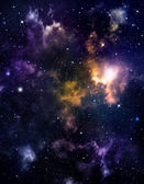 Deep outer space background — Stock Photo