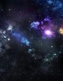 Beautiful distant galaxy — Stok fotoğraf