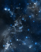 Abstract beautiful outer space — Stock Photo
