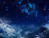 Night sky — Stock Photo
