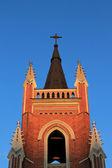 Catholic temple — Stock Photo