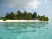 Maldives beach — Stock Photo