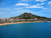 Costa Brava (Spain) Sea scape — Стоковое фото