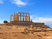 Grecia tempio di poseidon — Foto Stock