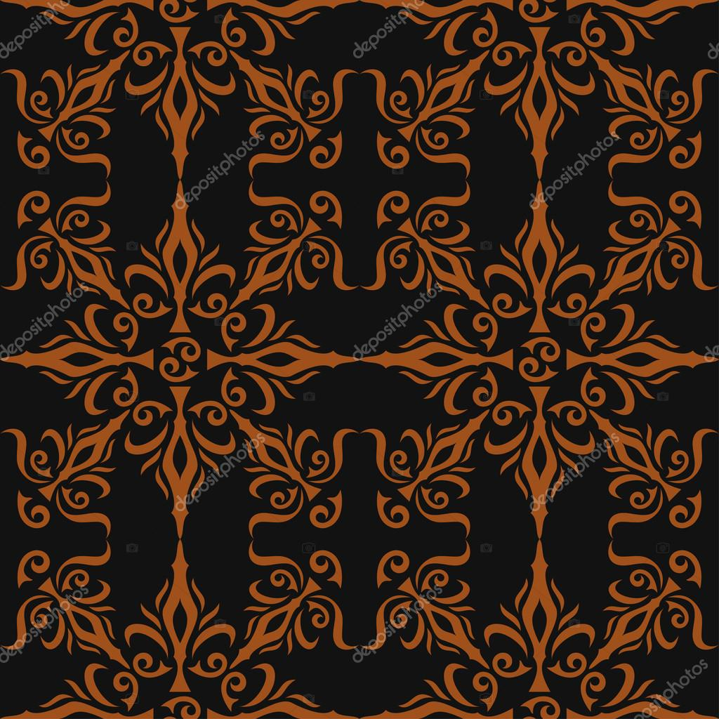 Elegante stilvolle abstrakte florale tapete nahtlose for Elegante tapeten