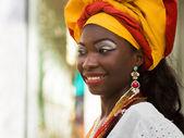 Brazilian Woman Dressed in Traditional Attire — Stock Photo