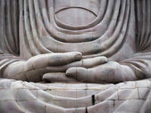 The Great Buddha Statue of Bodhgaya, India — Stock Photo